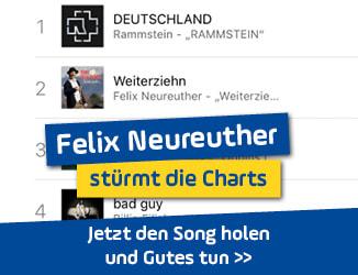 """Chartstürmer Felix Neureuther: """"Weiterziehn"""" schon Nummer-eins-Hitt"""