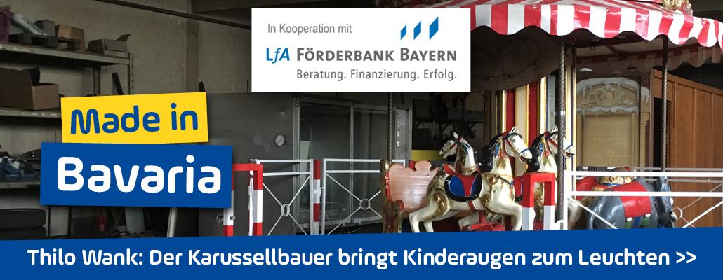 <em>Thilo Wank</em> in Schwaben: Als Karussellbauer bringt er Kinderaugen zum Leuchten