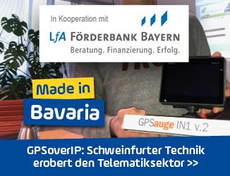 <em>GPSoverIP</em> in Unterfranken: Technik aus Schweinfurt erobert Telematiksektor
