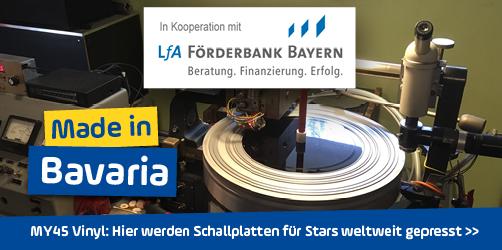 <em>MY45 Vinyl</em> in Niederbayern: Hier werden Schallplatten für Stars weltweit gepresst