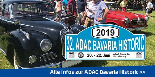 ANTENNE BAYERN präsentiert: Die ADAC Bavaria Historic 2019