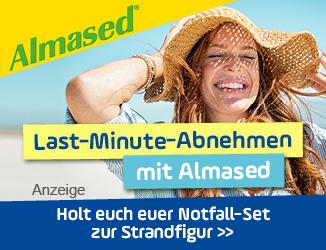 Last-Minute-Abnehmen mit Almased