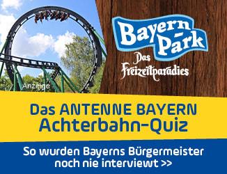 Das ANTENNE BAYERN Achterbahn-Quiz