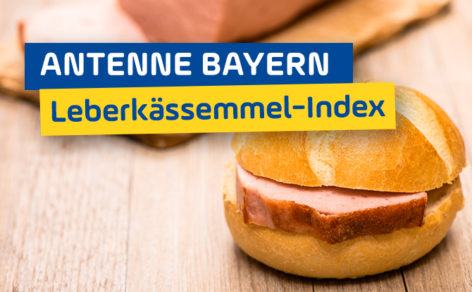 ANTENNE BAYERN Leberkässemmel-Index: Der große Regionen-Vergleich