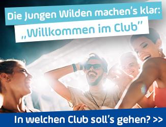 """""""Willkommen im Club!"""""""