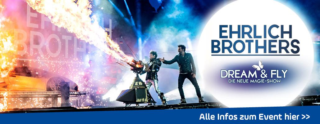 """ANTENNE BAYERN präsentiert: """"Dream & Fly"""" - die neue Show der Ehrlich Brothers"""