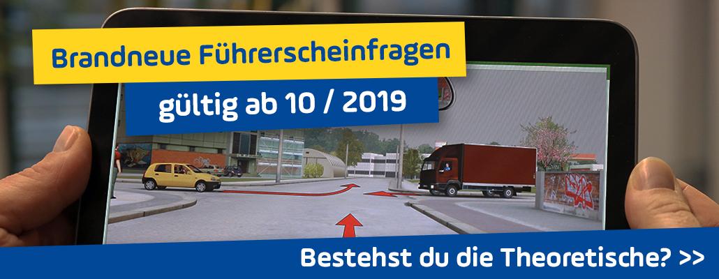 Brandneue Führerschein-Fragen seit Oktober 2019: Bestehst du die Theorieprüfung?