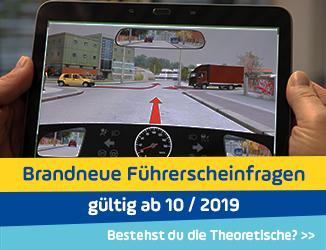 Brandneue Führerschein-Fragen ab Oktober 2019: Bestehst du die Theorieprüfung?