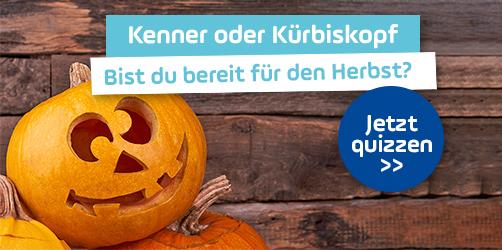 Kenner oder Kürbiskopf: Bist du bereit für den Herbst? Jetzt quizzen!