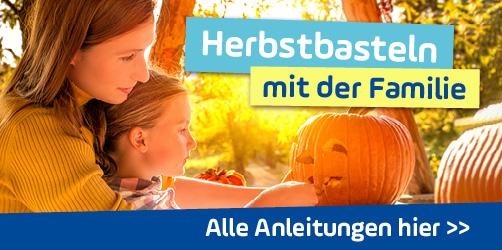 Herbstbasteln: Schöne Herbstdeko und Bastelideen