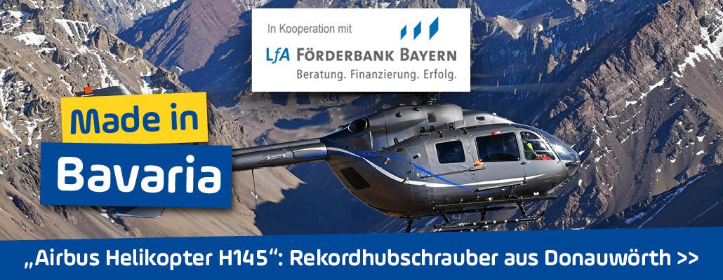 <em>Airbus Helikopter H145</em> in Schwaben