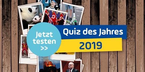 Rückblick 2019: Teste dein Wissen im härtesten Quiz des Jahres