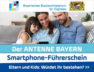 Der ANTENNE BAYERN Smartphone-Führerschein