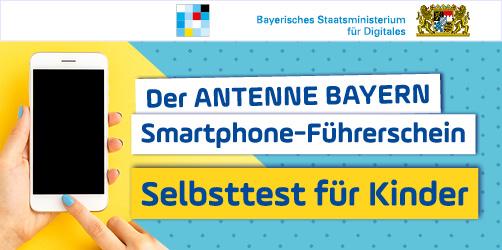 ANTENNE BAYERN Smartphone-Führerschein für Kinder