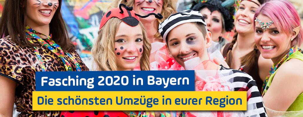 Fasching 2020 in Bayern: Das sind die schönsten Umzüge in eurer Region