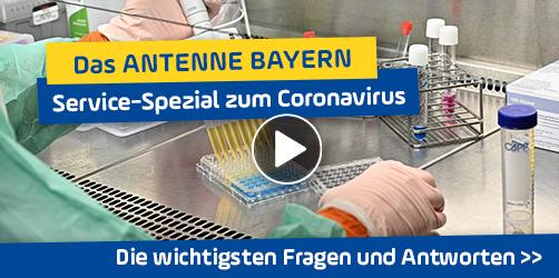 Das ANTENNE BAYERN Service-Spezial zum Coronavirus