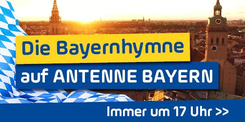 Die Bayernhymne auf ANTENNE BAYERN - immer um 17 Uhr