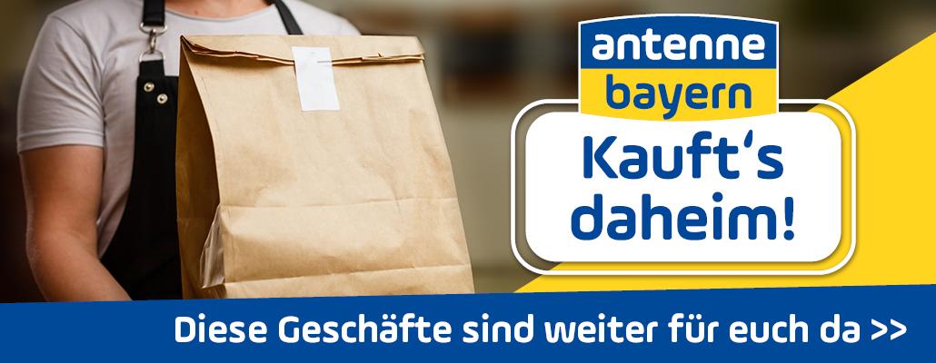 """ANTENNE BAYERN - """"Kauft's daheim!"""""""
