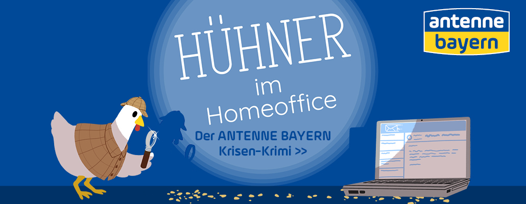 """Hühner im Homeoffice"""