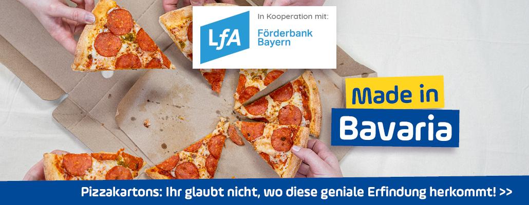 <em>Pizzakartons</em> aus Unterfranken