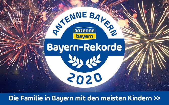 Die ANTENNE BAYERN Bayern-Rekorde