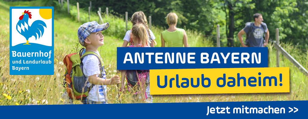 ANTENNE BAYERN - Urlaub daheim!