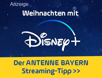 ANTENNE BAYERN Streaming-Tipp - mit Disney+ an Weihnachten