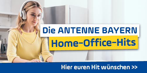 Die ANTENNE BAYERN Home-Office-Hits