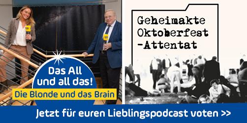 Wir sind nominiert für den Deutschen Podcast-Preis - stimmt ab!