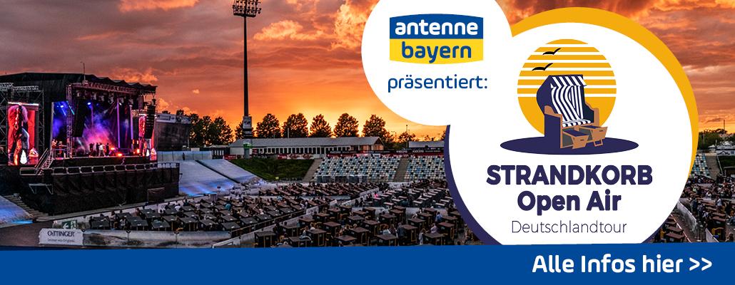 """ANTENNE BAYERN präsentiert: das """"Strandkorb Open Air 2021"""" in Bayern"""