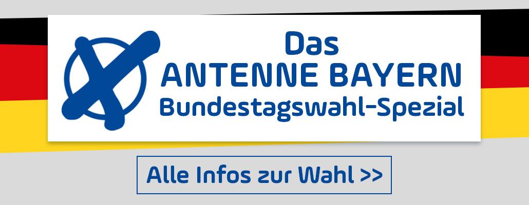 Das ANTENNE BAYERN Wahl-Spezial: Alle Infos, Live-Ticker, Hochrechnungen & mehr