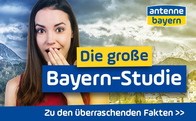 Die große Bayern-Studie - ANTENNE BAYERN fragt den Freistaat