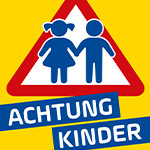 ACHTUNG KINDER-Plakate