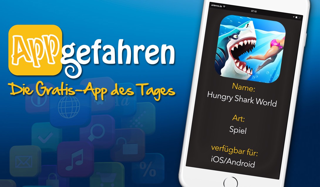 HUNGRY SHARK WORLD - ACTIONGELADEN!