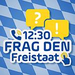 Frag den Freistaat - um 12:30 - mit Kathie Kleff