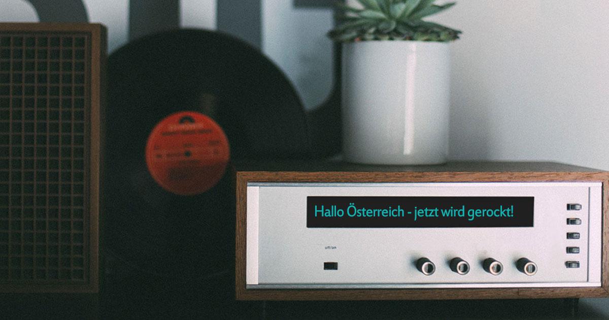 Austria rockt: Holt euch ein DAB+-Radio für den besten Rock nonstop in Österreich!
