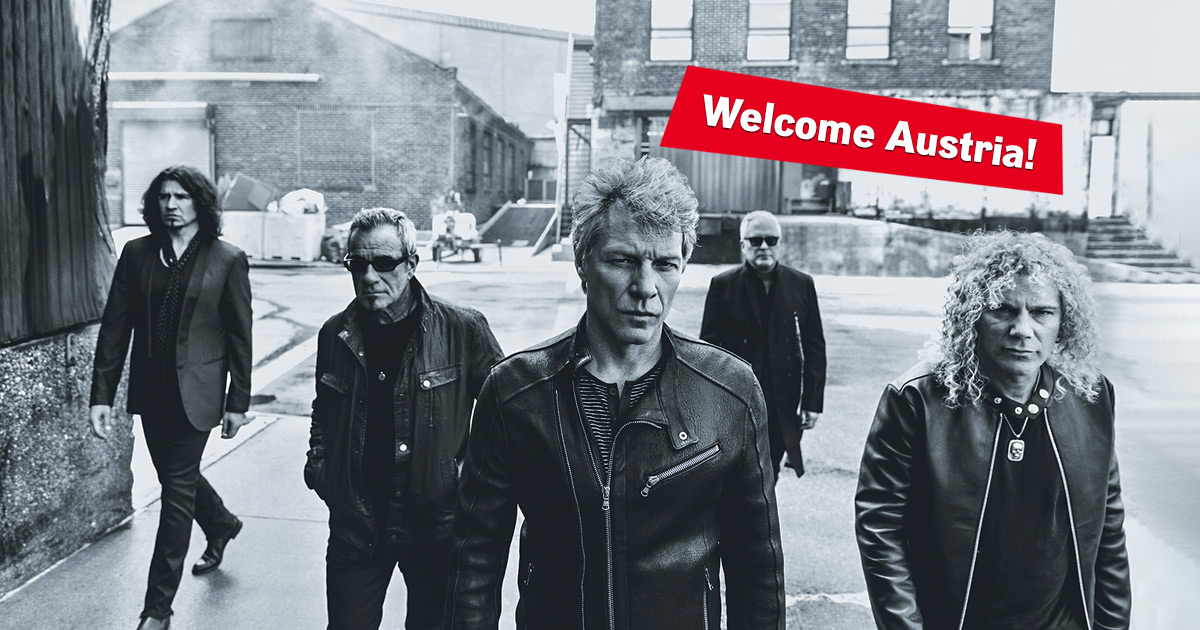 Welcome to the family: Wir laden euch ein zu Bon Jovi in Wien!