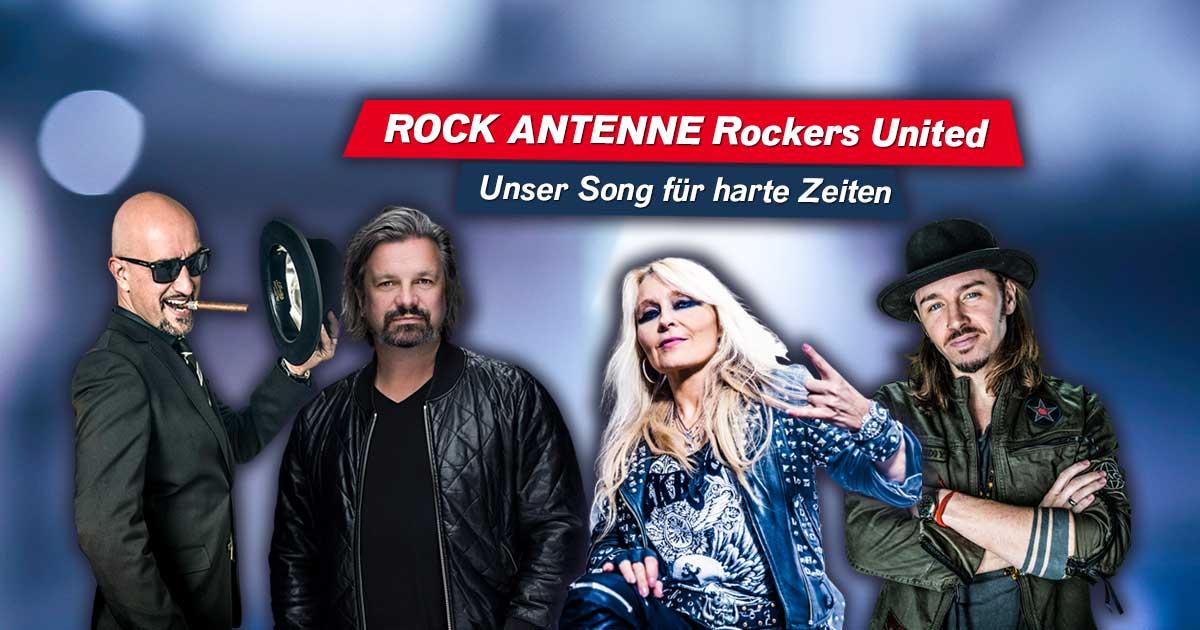 ROCK ANTENNE Rockers United: Unser Song für harte Zeiten!
