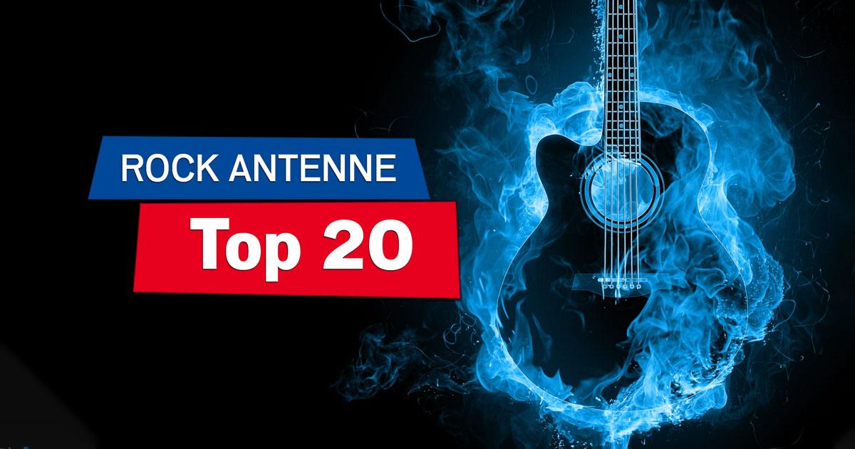 ROCK ANTENNE Top 20: Mitvoten & immer sonntags ab 15 Uhr Radio an!