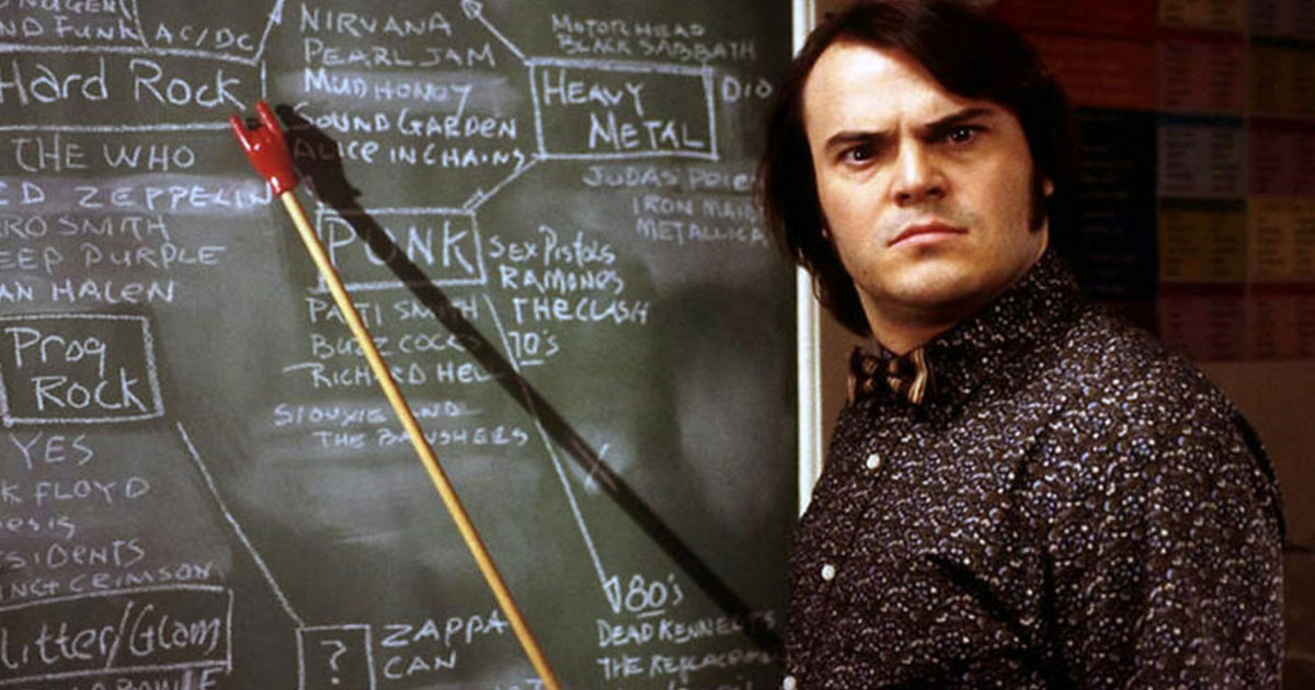 Simply the Test: Schaffst du die Rock and Roll High School?