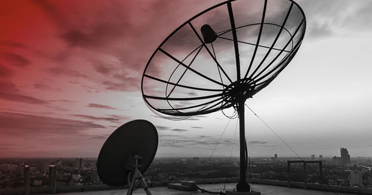 Über Satellit abrocken