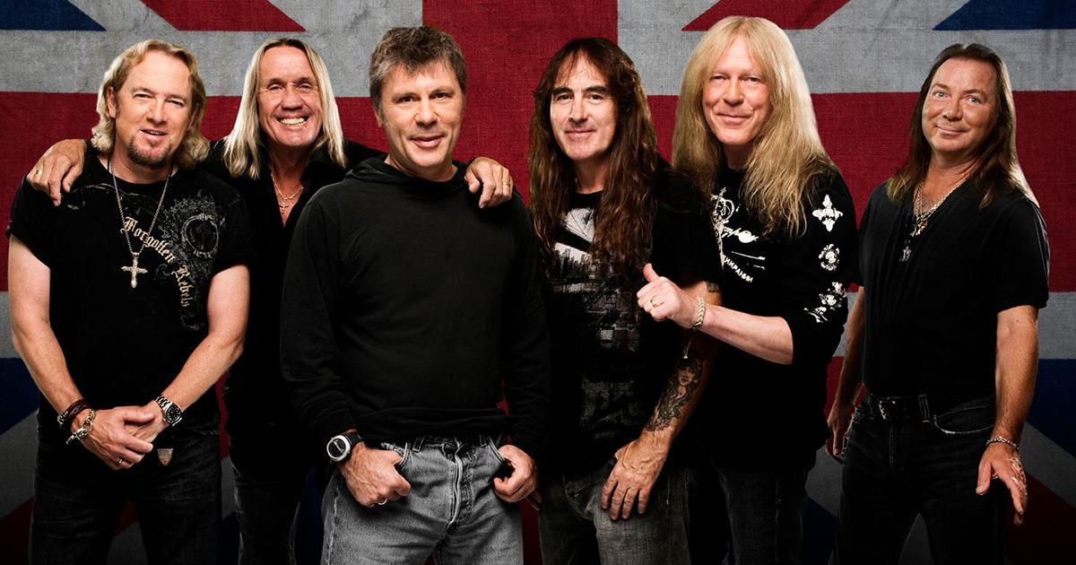 Iron Maiden: Vier Konzerte in Deutschland 2020