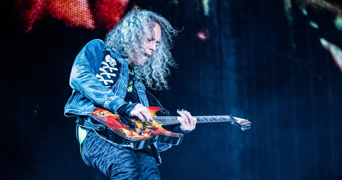 Kirk Hammett: 10 Fakten über den Metallica-Gitarristen