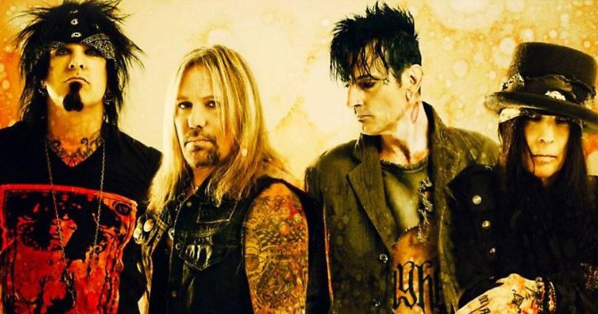 Mötley Crüe: Vor 39 Jahren gründete sich die Glam Metal Truppe