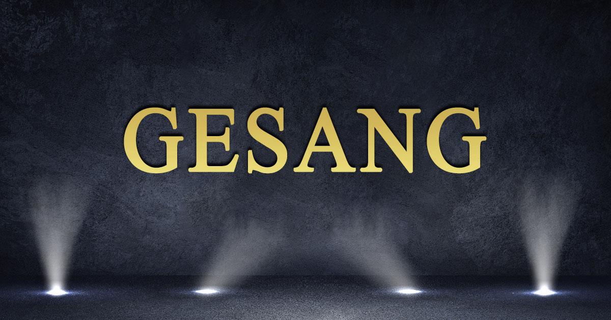 """Zum Voting der Kategorie """"GESANG"""" >"""