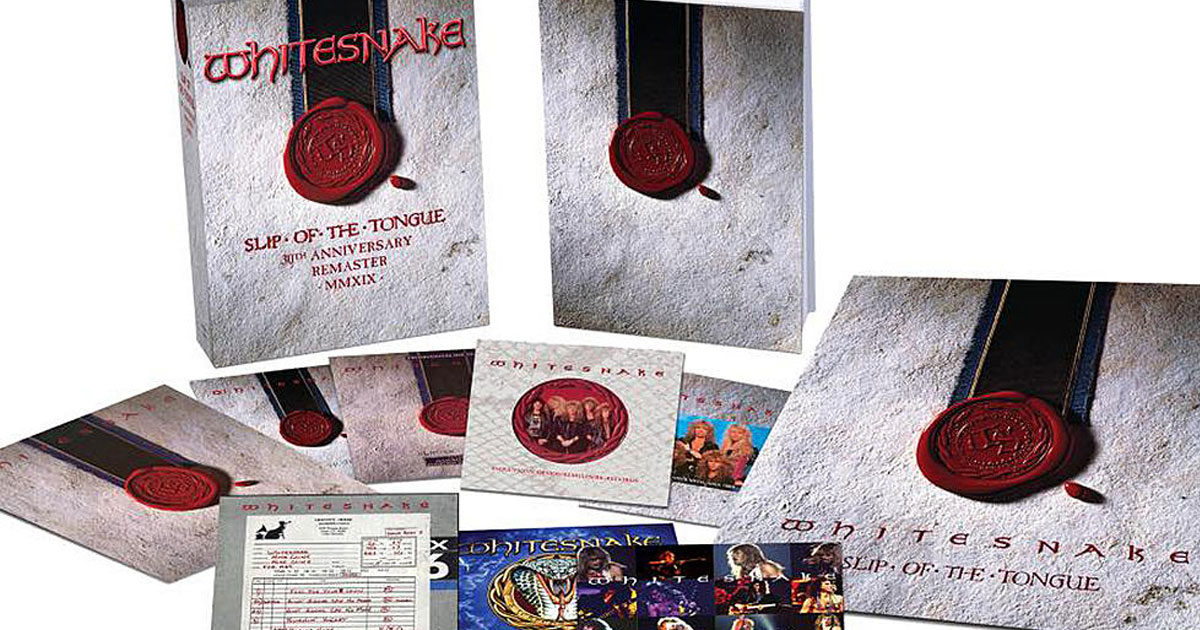 Whitesnake: Jubiläums-Box-Set zu 30 Jahren <em>Slip of the Tongue</em>