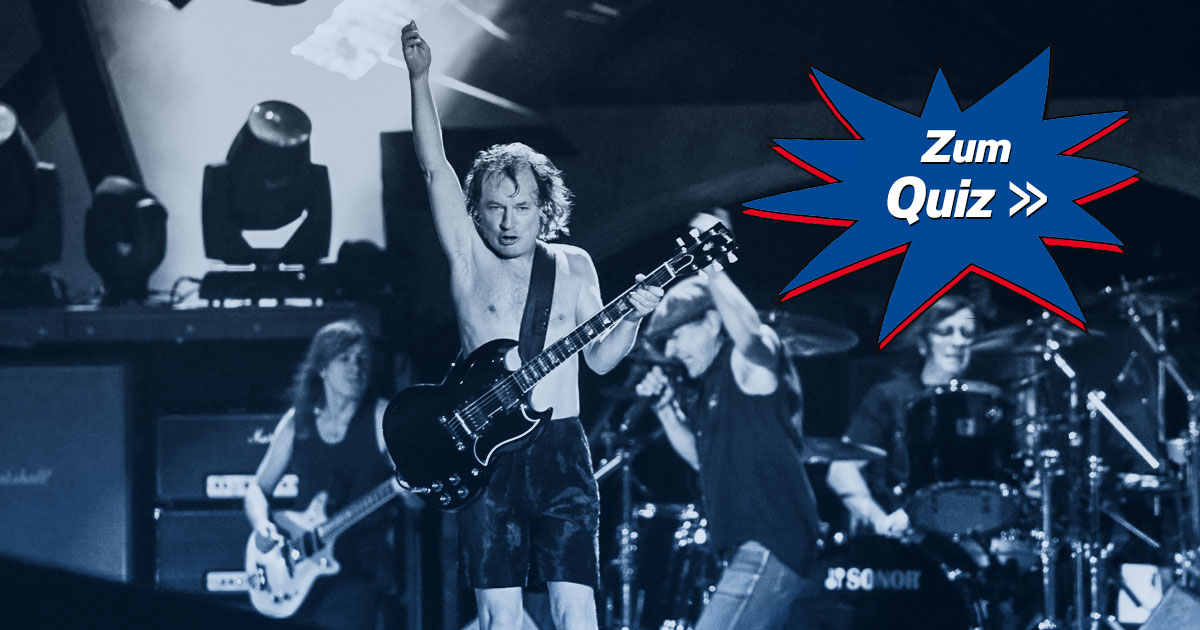 Who Made Who: Welches AC/DC-Mitglied bist du?