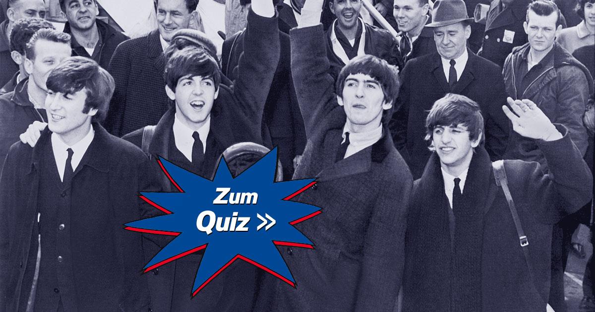 Quiz and Shout: Wie gut kennst du die Beatles?