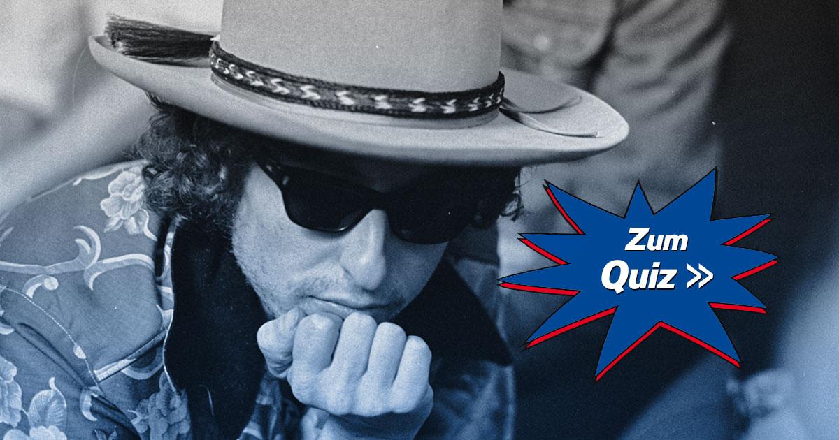 Wer wird Dyllionär: Wie gut kennst du Bob Dylan?