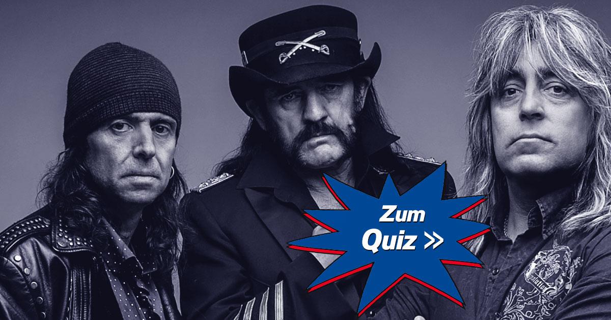 Quiz to Win oder Born To Lose: Wie gut kennst du Motörhead?